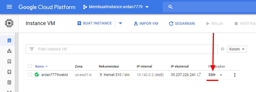 Cara Install LEMP di VM GCP Ubuntu Menggunakan Serverpilot Via Akses SSH 2