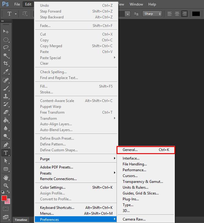cara setting scroll zoom di photoshop