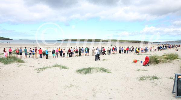 Hands across the sands a resounding success