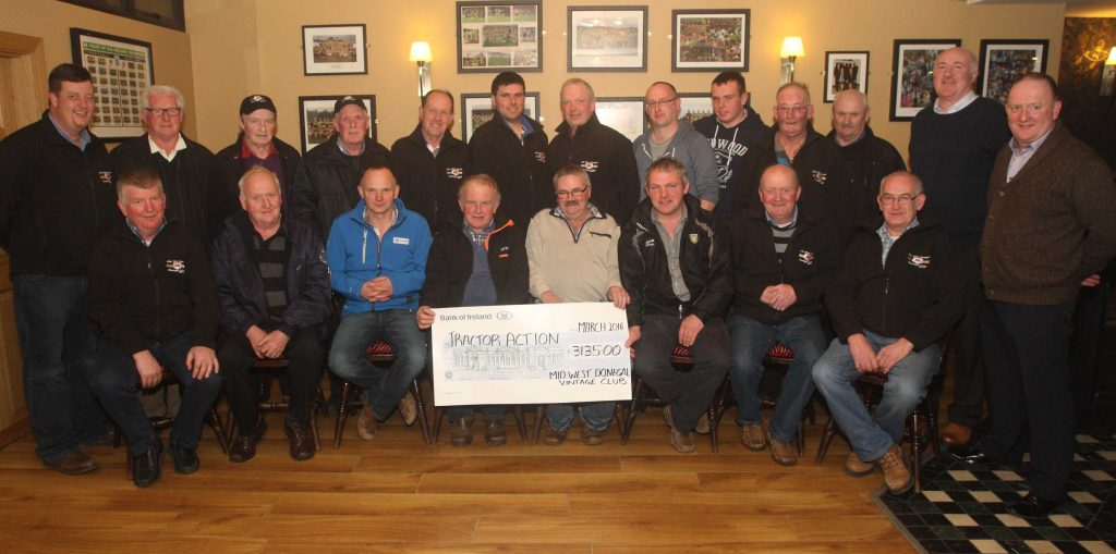 Mid West Donegal Vintage club fundraising