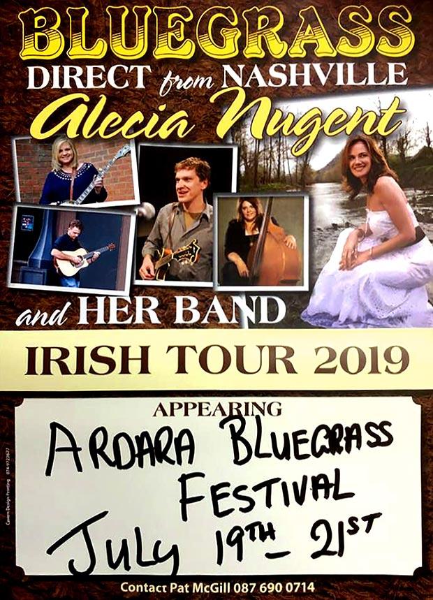 Alicia Nugent at the Ardara Bluegrass Festival
