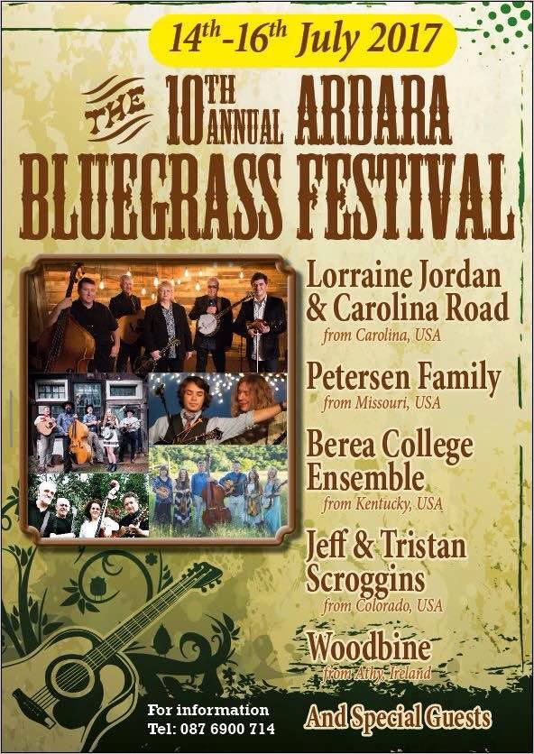 The Biggest Show in Town – The Bluegrass Festival 14th – 16th July, 2017