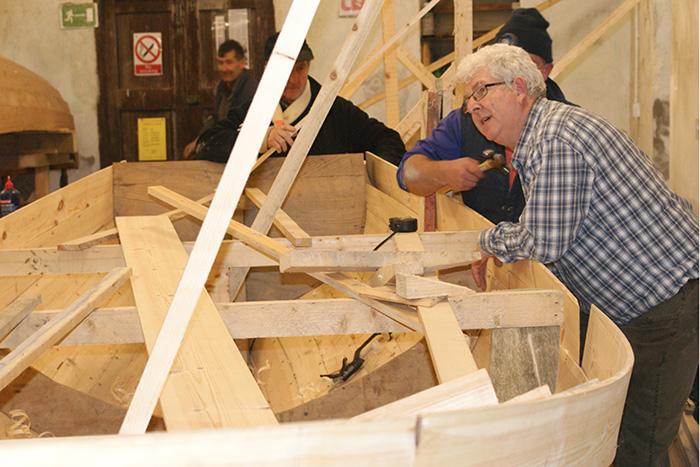 Boat building gallery
