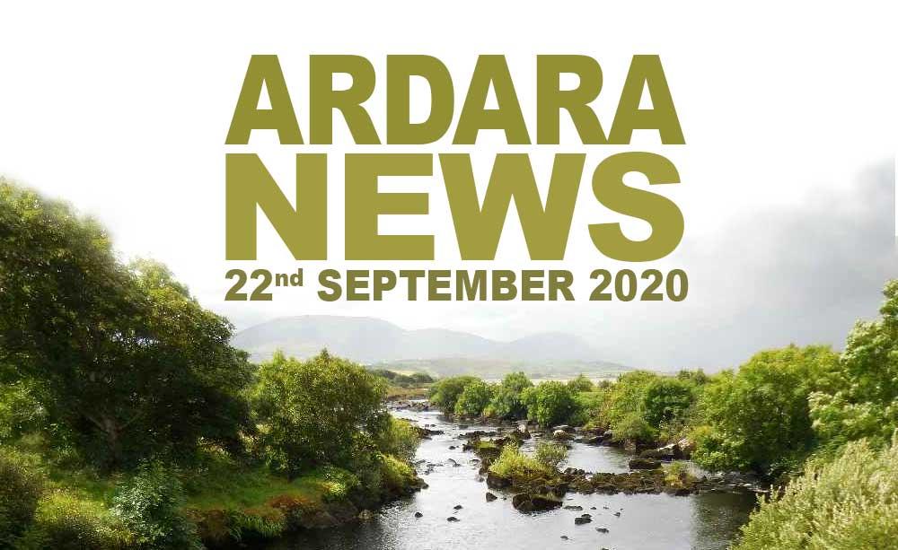 Ardara News 22nd September 2020