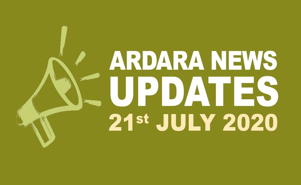 Ardara News 21st July 2020