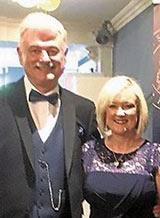 Frank Galligan and Caroline O Fiaich