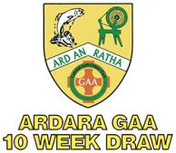 Ardara GAA 10 Week Draw