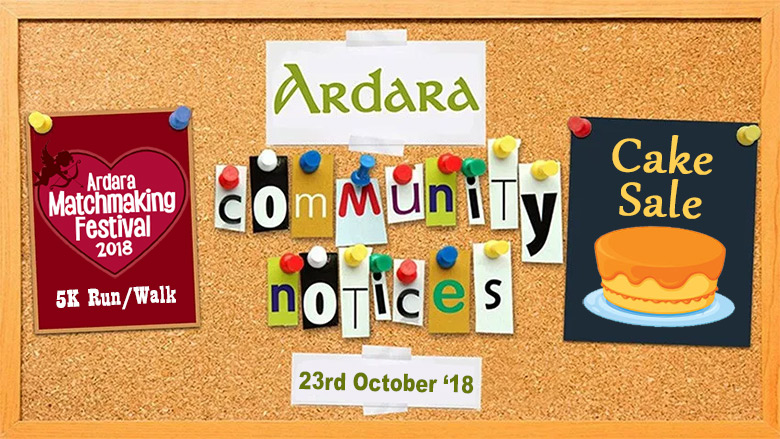 Community Notices 23rd October 2018