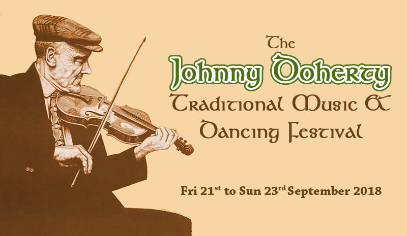 The Johnny Doherty Irish Traditional Music & Dancing Festival