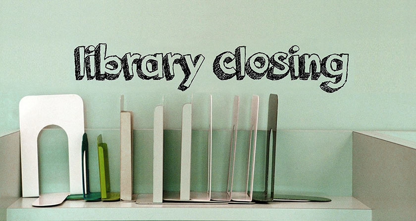 Community Centre Library Closing