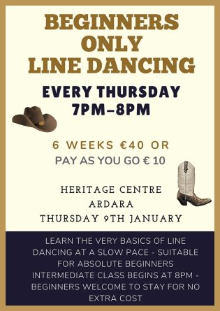 Line Dancing Classes in Ardara