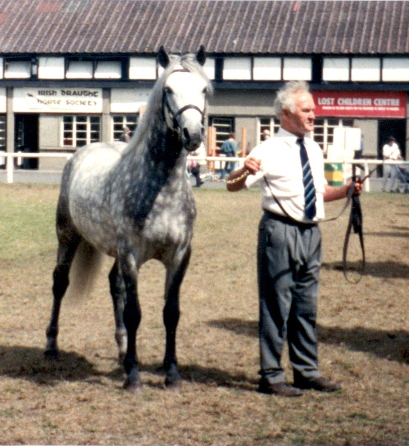 Coral Prince with Bobby Bolger at the RDS in 1993
