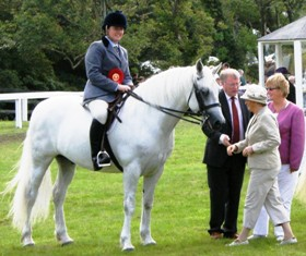 Reserve Ridden Champion Inverin Boy and Carmel Joyce