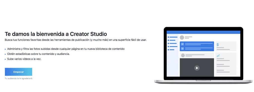 ¿Creator Studio?
