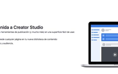 Todo sobre Creator Studio de Facebook