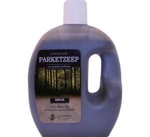 universele parket zeep bj grijs voor onderhoud van parket