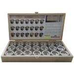 kleurstalen, colorbox, color box, hesse-lingal high solid oil sample box stalen box