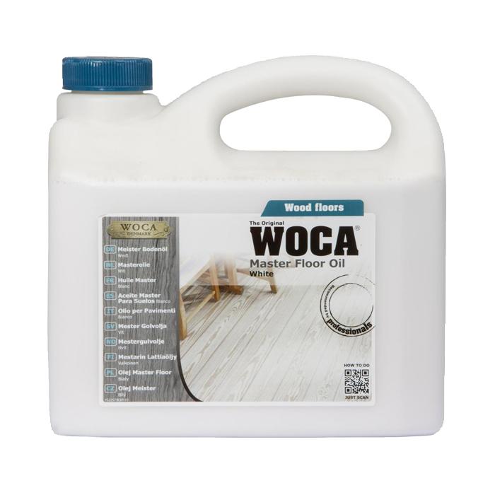 woca masteroil master floor oil master olie naturel wit white, blanc