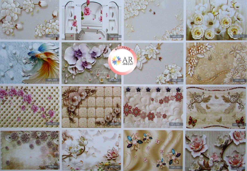 contoh gambar wallpaper dinding kamar anak