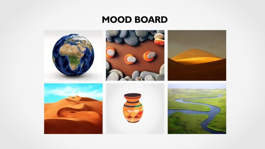 brand identity mood-board