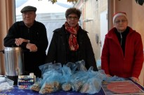 ... à la vente des gaufres liégeoises