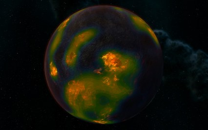 Lava Planet for Felsic Magma extraction - New Pin Design Setup