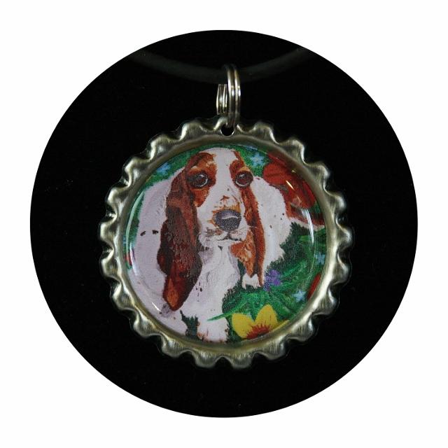 Dog Mom Gift, dog jewelry, animal charm, animal jewelry, dog charm,basset hound,dog necklace,pet memorial jewelry,basset memorial, Item #BN1 i love my basset, basset mom, cute basset hound, dog angel