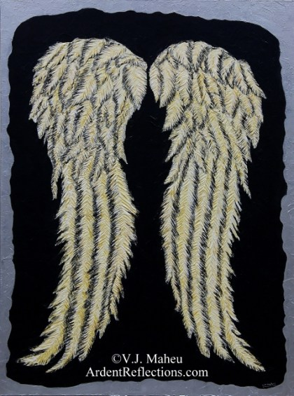 The Walking Dead inspired art, Daryl Dixon inspired art, Daryl Dixon Inspired Wings