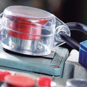 Blook bloqueador de botón acrílico de 30 mm. – Cod. ELE-2010