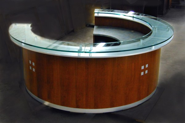 Arnold Reception Desks Inc  Lobby Desk HARFORD
