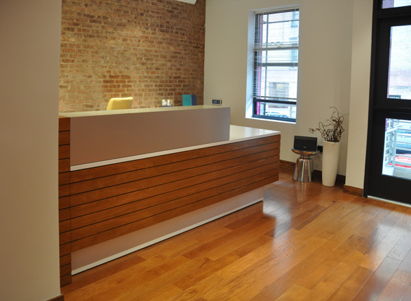 Arnold Reception Desks Inc  Custom AngloIrish Bank
