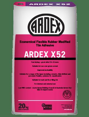 flexible rubber modified tile adhesive