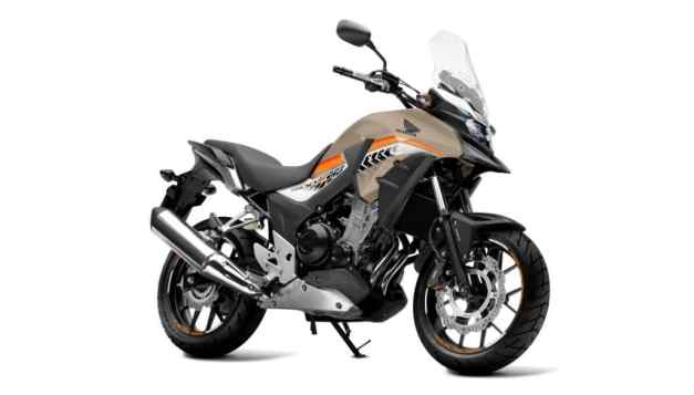 All New Honda CB500X 2016