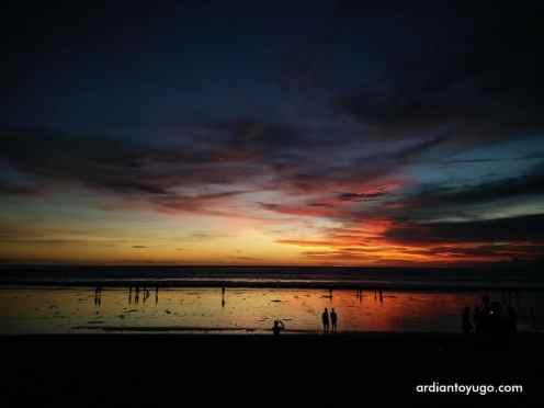 Sunset di Pantai Kuta Bali (3)