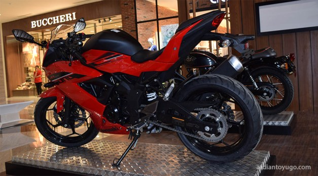 Kawasaki Ninja 150 4tak