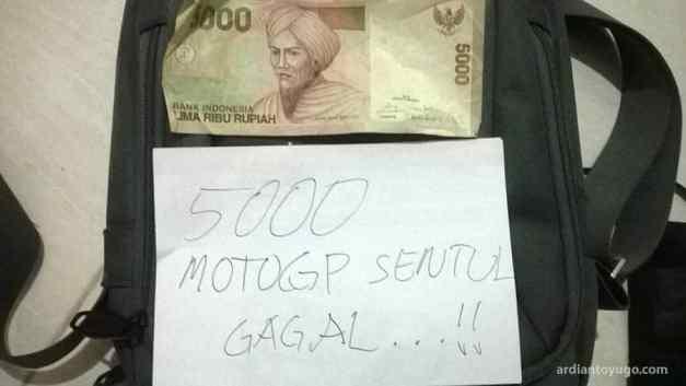 MotoGP Sentul gagal