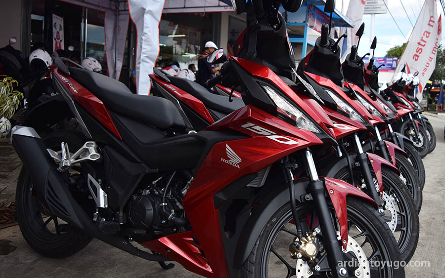Review Honda Supra GTR 150