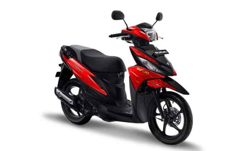 suzuki address 2019 merah