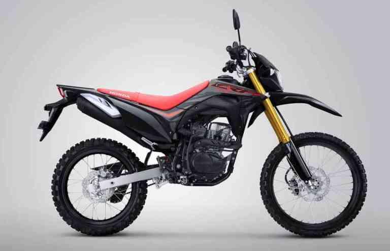 honda crf150l 2020 hitam