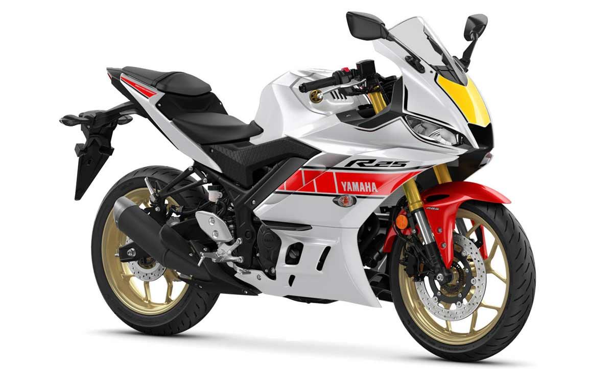 Yamaha R25 2022 60th Anniversary World GP...