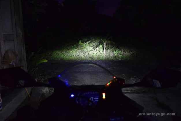 cahaya headlamp honda cbr250rr 2
