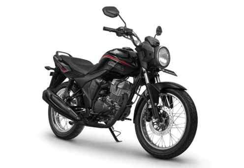 Honda CB150 Verza Masculine Black (spoke wheel)...