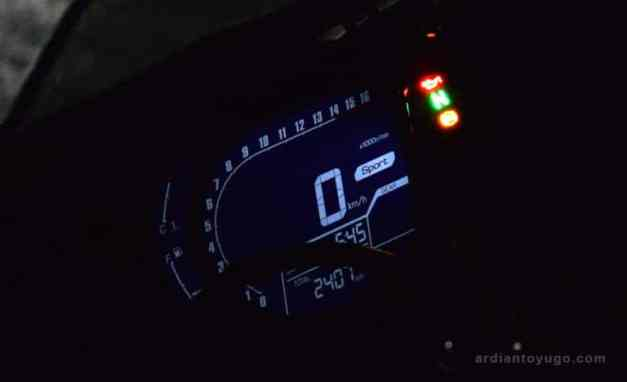 honda cbr250rr speedometer