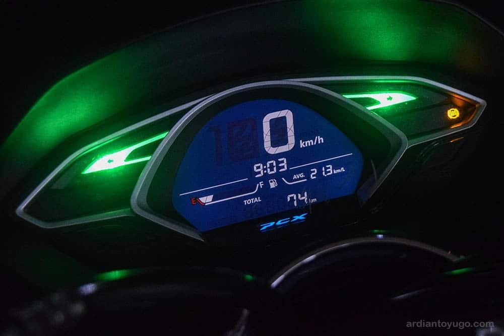 speedometer pcx lokal