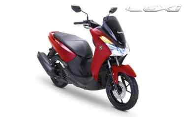 Yamaha Lexi 125 Matte Red...