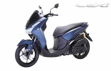 Yamaha Lexi 125 Matte Blue...