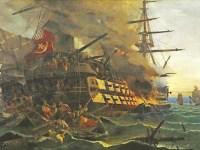 Η πυρπόληση της τουρκικής ναυαρχίδας με βάση τα απομνημονεύματα του Αν. Ορλάνδου και του Κ. Νικοδήμου & οι αντιλήψεις των αγωνιστών του '21