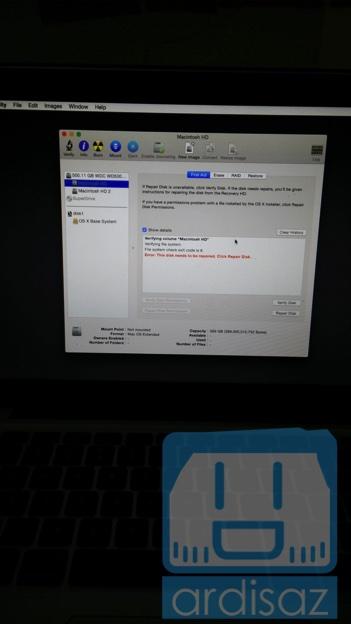 Peas Error gak bisa dibenerin HDDnya