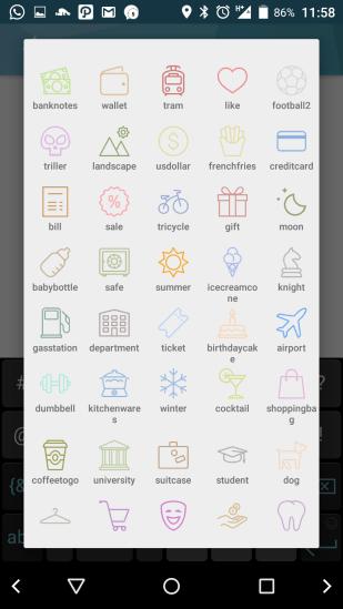 Jojonomic - icon category