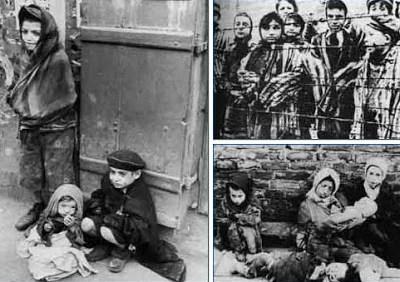 Anak-anak menjadi korban kediktatoran fasis di eropa berkuasa saat perang dunia ke II